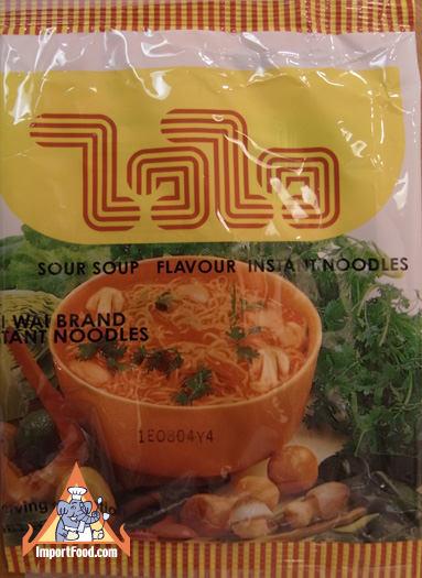 Instant noodles, Wai Wai, tom yum