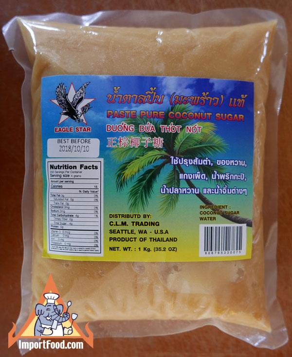Thai Coconut Sugar Paste