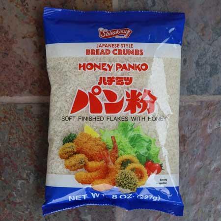 Honey Panko Bread Crumbs