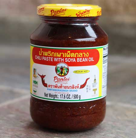 Prik Pao - Roasted Chili in Oil - Pantainorasingh Brand