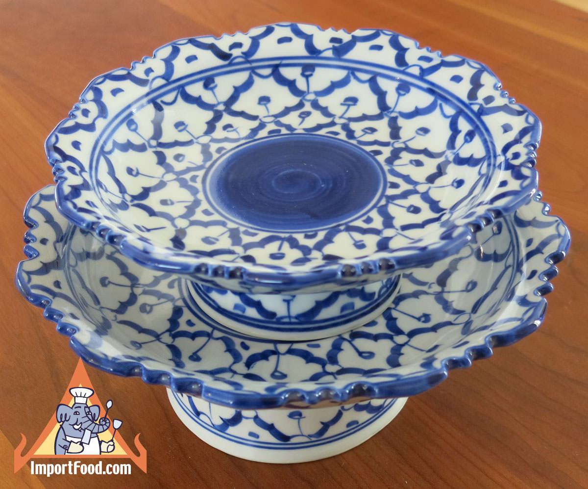 Thai Ceramic, pedestal plate