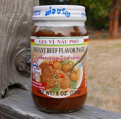 Pho Beef Flavor Paste