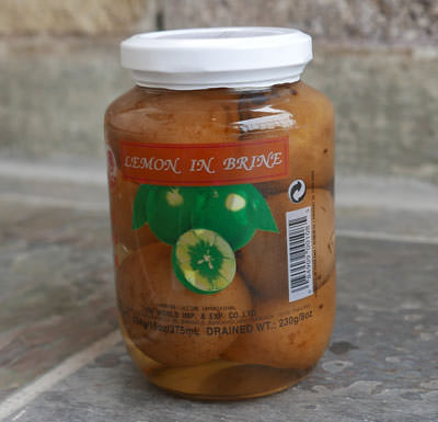 Thai Pickled Lime