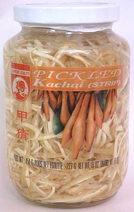 Thai Krachai, Sliced, 16 oz jar
