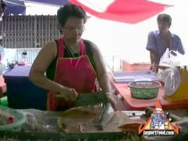 Market Fish Vendor: Preparing Pla Chon