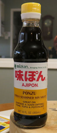 Ponzu Sauce / Ajipon