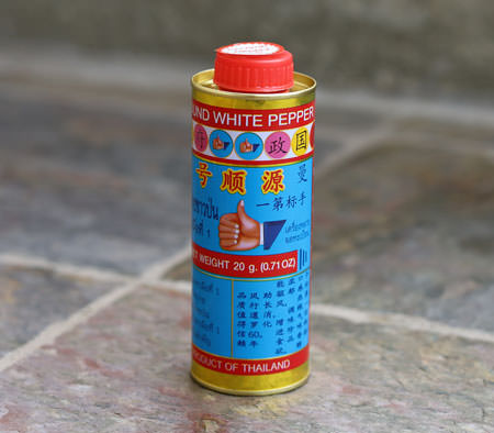 Thai Pepper Powder, Hand Brand