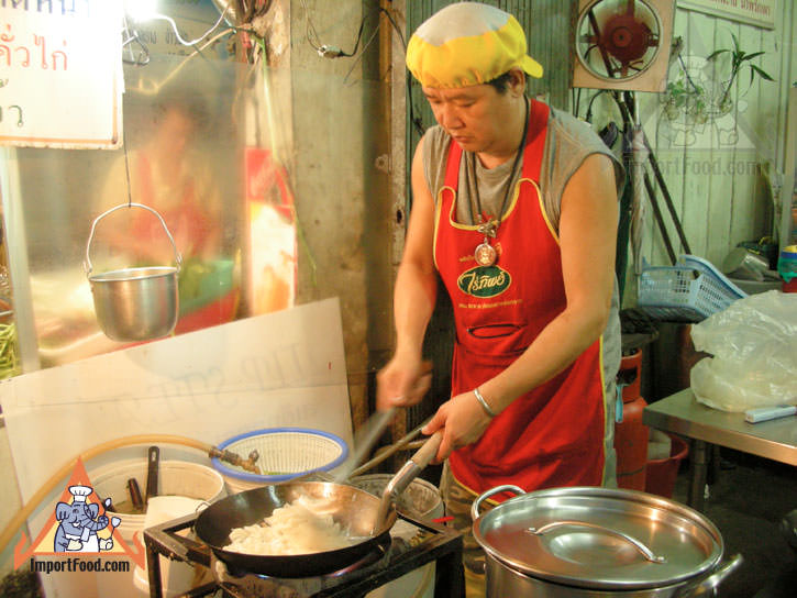 Vendor At Soi Thong Lor Offers Radna