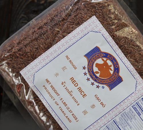 Thai rice, red cargo, 5 lb
