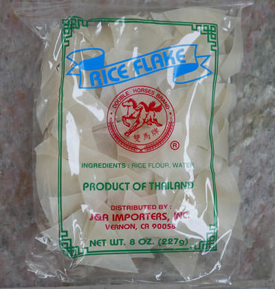 Thai rice flake, 8 oz