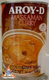 Ready-made Massaman Soup, 16 oz can