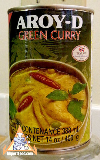Green Curry Soup, 14 oz can