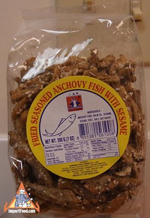 Shing Shang Fish Snack, 7 oz bag