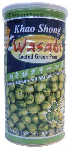 Wasabi Green Pea Snack