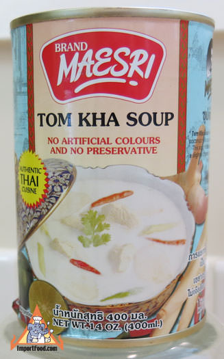 Tom Kha Soup, Maesri, 14 oz can