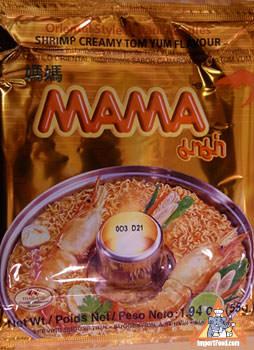 Mama brand, tom yum creamy shrimp