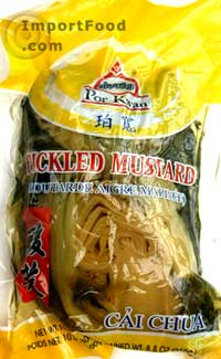 Pickled mustard green, 8 oz