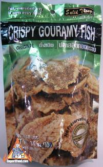 Crispy Fish Snack, Salid Thong