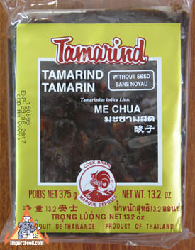 Tamarind paste, seedless, 14 oz