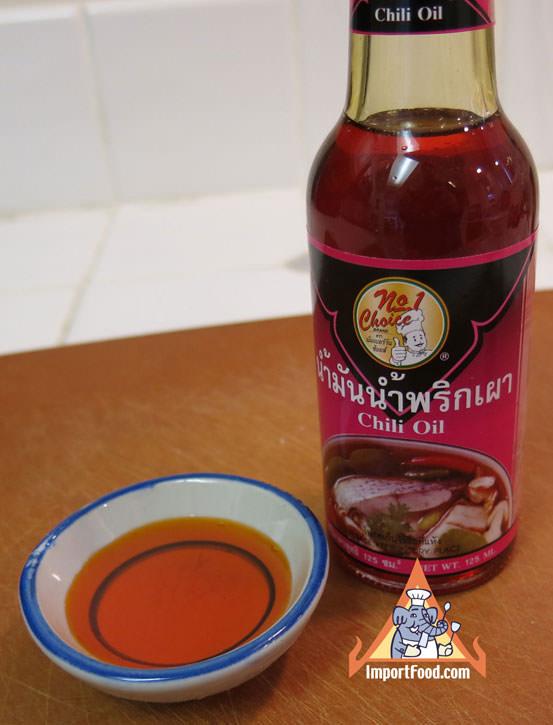 Thai Red Chili Oil, 5.5 oz bottle