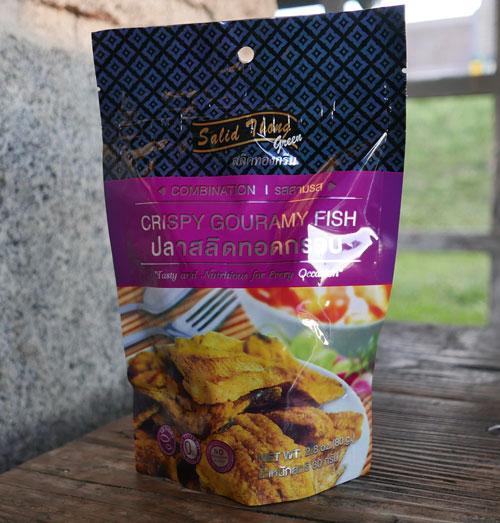 Salid Thong Crispy Fish Snack, Combo Flavor, 2.8 oz