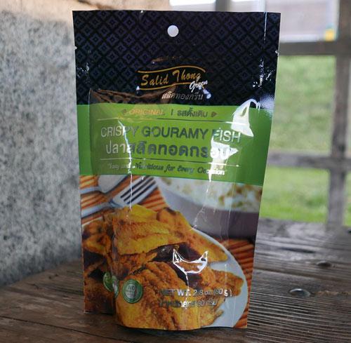 Salid Thong Crispy Fish Snack, 2.8 oz