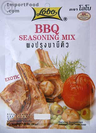 Thai BBQ Sparerib Mix, Lobo