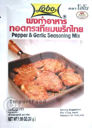Thai Pepper & Garlic Seasoning Mix