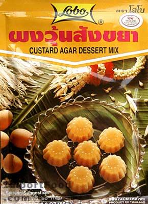 Lobo brand, Custard agar dessert, 2.8 oz