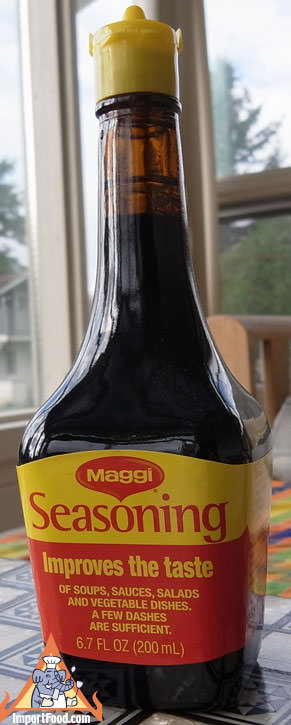 Maggi Seasoning, 6.7 oz bottle