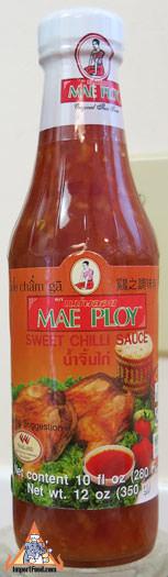 Thai Sweet Chilli Sauce, Mae Ploy Brand