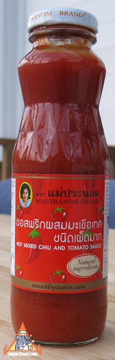 Thai ketchup, Mae Pranom brand, 12 oz