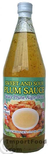 Sweet and Sour Plum Sauce, Por Kwan Brand