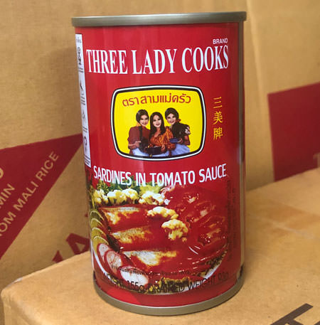 Thai Sardines in Tomato Sauce