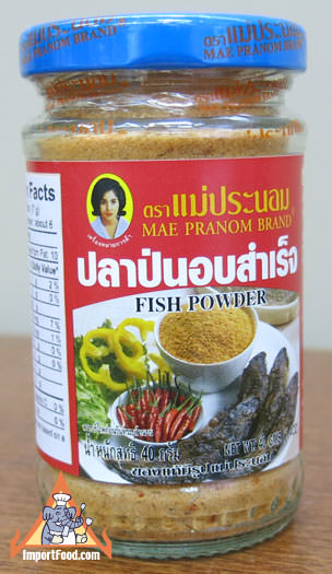 Thai Fish Powder with Chili