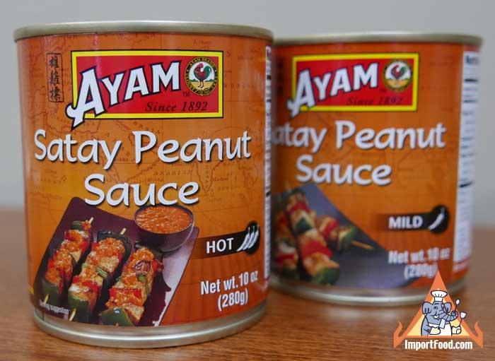 Satay Sauce, Ayam Brand, 10 oz