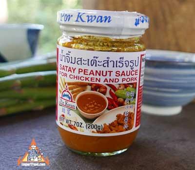 Thai Peanut Sauce - Por Kwan Brand