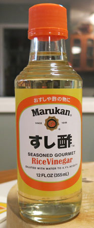 Seasoned Rice Vinegar, Marukan
