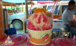 Thai Street Vendor Refreshing Shaved Ice Treats