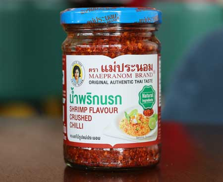 Shrimp Flavor Crushed Thai Chilli, Mae Pranom