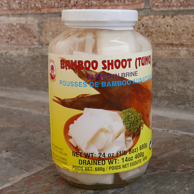 Thai Bamboo Shoots, Sliced - 24 oz jar