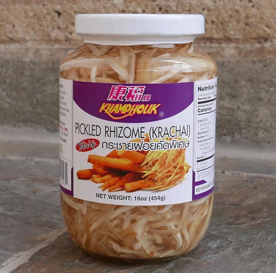 Thai Krachai Sliced 16 Oz Jar Importfood