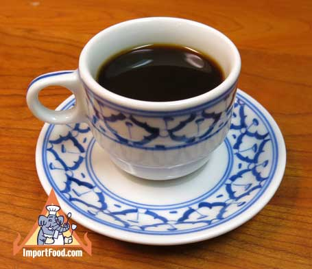 Thai Ceramic, small cup & saucer