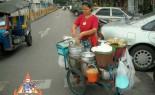 Thai Street Vendor Prepares Chinese-Style Soup