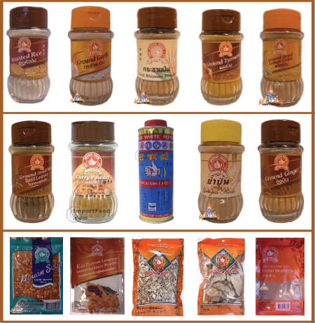 Thai spice kit (14 spices)