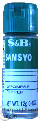 Japanese Pepper, Sansyo