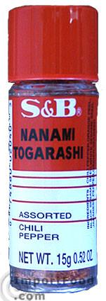 Nanami Togarashi Japanese Mixed Chili Pepper