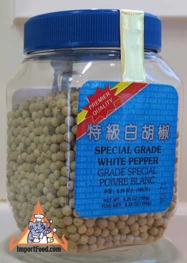 Whole White Peppercorn