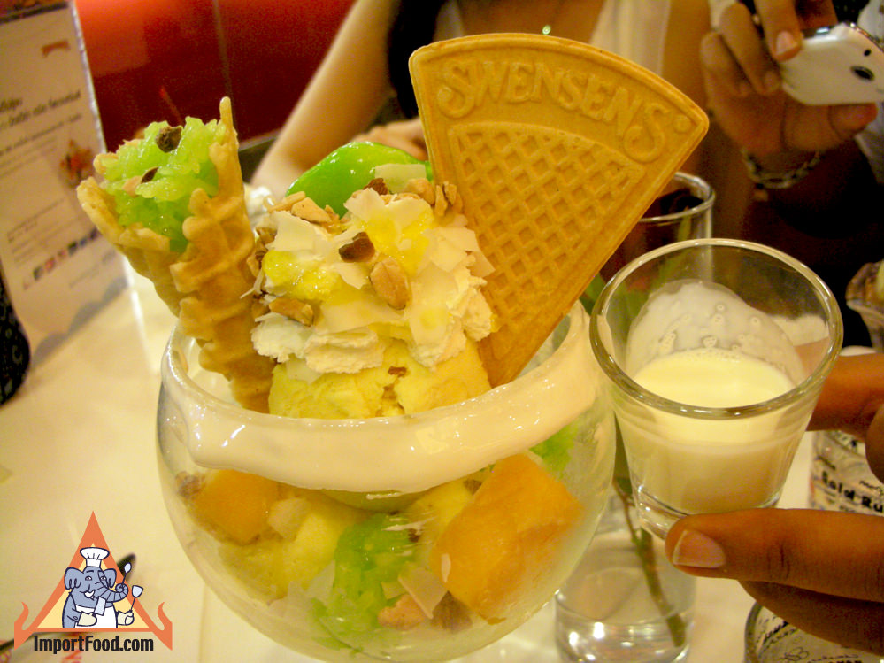 Mango Sensation Pandan Sticky Rice at Swensen