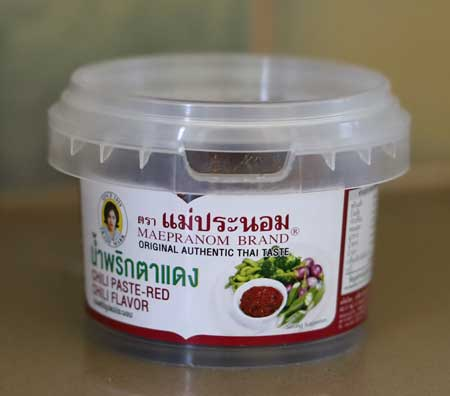 Red Eye Chili Paste (Namprik Ta Dang), Mae Pranom Thailand